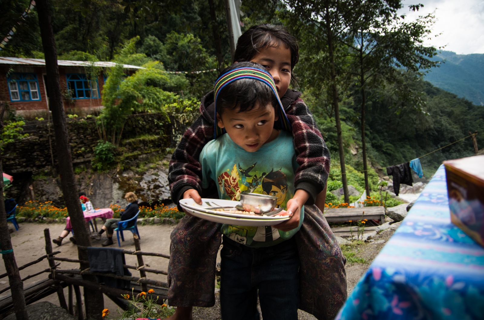Some great hospitality service at a guest house in the Langtang Valley